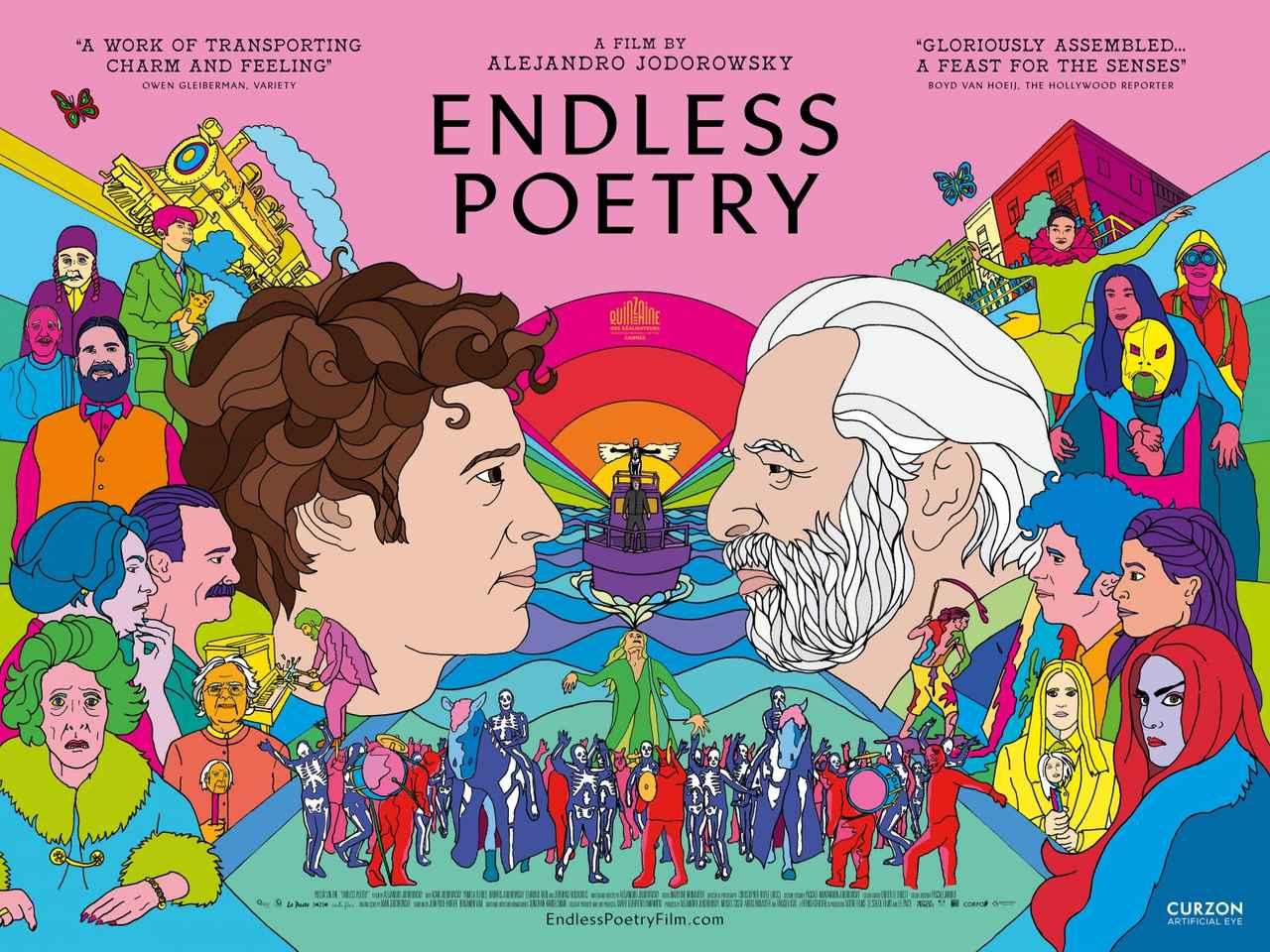 画像: (c) Pascale Montandon-Jodorowsky Poster design by Andrew Bannister www.impawards.com