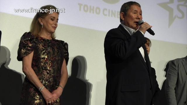 画像: フランス映画祭2017 カトリーヌ・ドヌーヴ & 北野武監督 youtu.be