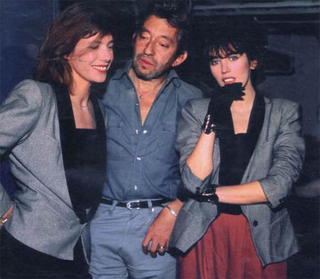 画像: 時代を象徴するイザベル・アジャーニとジェーン・バーキンとセルジュ・ゲンスブール isabelleadjani.blogspot.jp