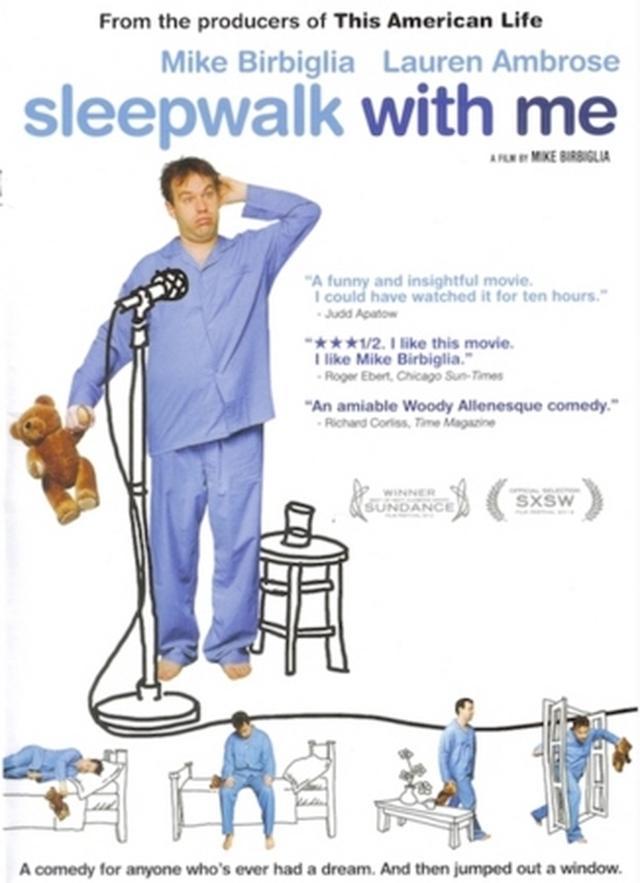 画像: 『スリープウォーク・ウィズ・ミー』(2012年、監督:マイク・バービグリア) Blu-ray上映(日本語字幕付き)