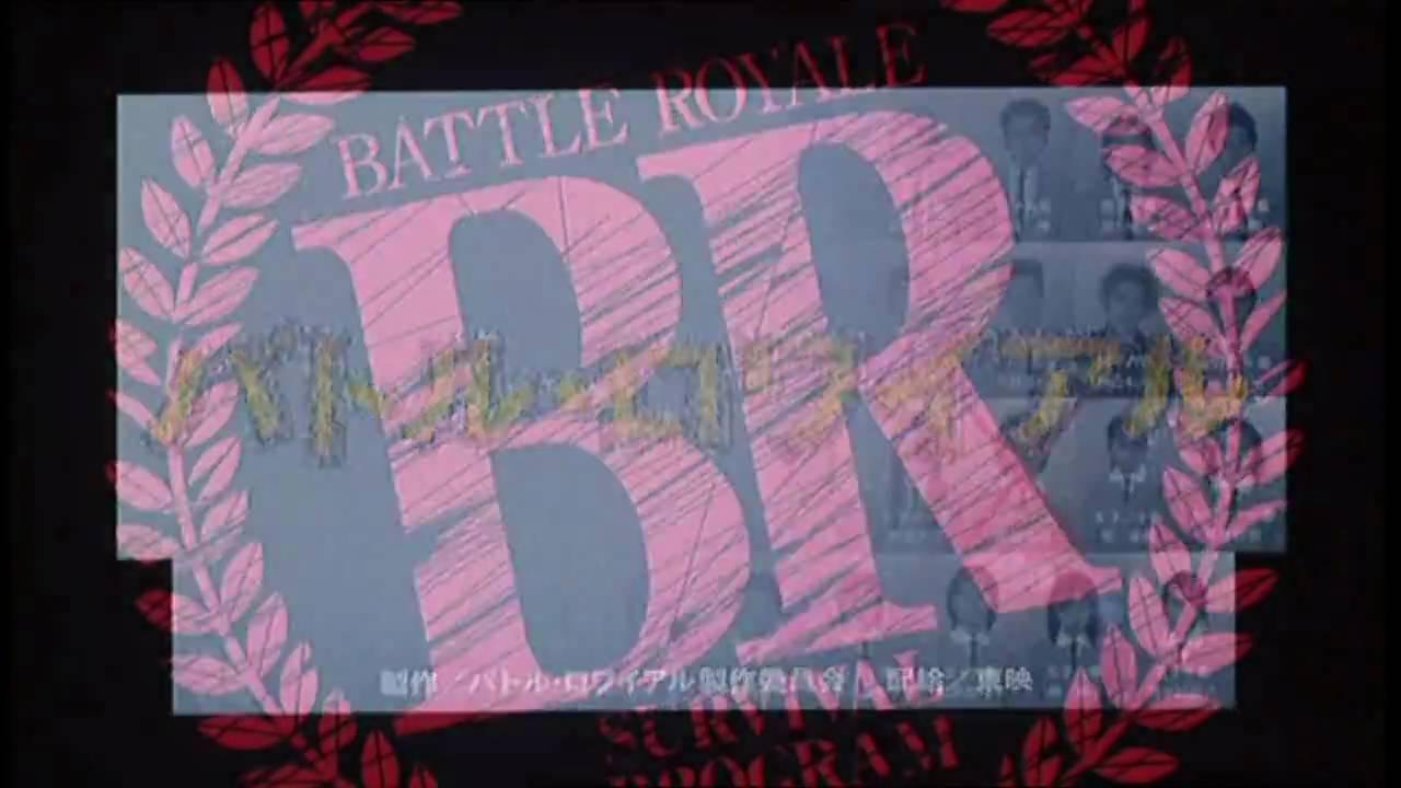 画像: Battle Royale (2000) - Kinji Fukasaku - Trailer - [HD] youtu.be