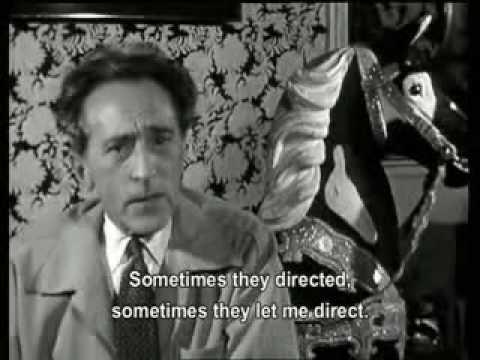 画像: Jean Cocteau Documentary #4 youtu.be