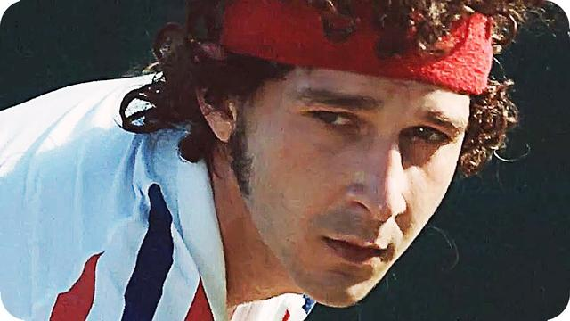 画像: BORG/MCENROE Teaser Trailer (2017) Shia LaBeouf, Stellan Skarsgård Tennis Movie youtu.be