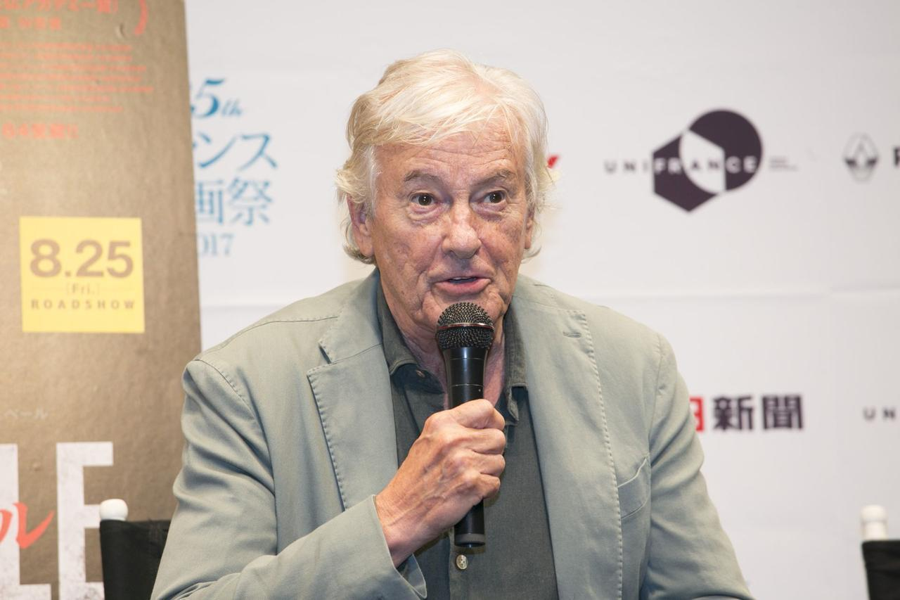 画像: ポール・ヴァ―ホーヴェン監督。来日時(2017年)