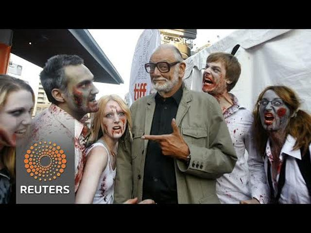 画像: George A. Romero, father of zombie movies, dies at 77 youtu.be