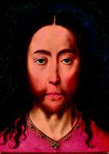画像: ディーリク・バウツ 「キリストの頭部」 1470年頃 油彩、板 Museum BVB, Rotterdam, the Netherlands