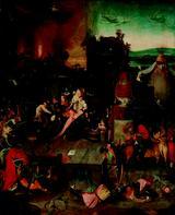 画像: ヒエロニムス・ボスに基づく 「聖アントニウスの誘惑」 1540年頃 油彩、板 Museum BVB, Rotterdam, the Netherlands