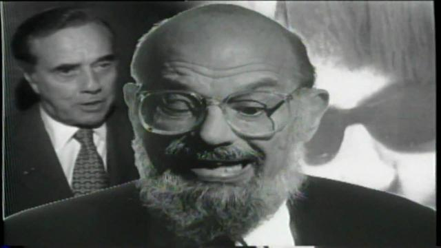 "画像: Allen Ginsberg With Paul McCartney ""Ballad of The Skeletons"" ‌‌ - Bohemia Afterdark youtu.be"