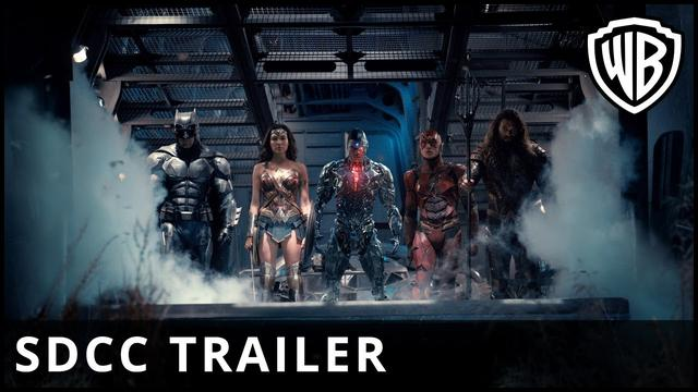 画像: Justice League - Comic Con Sneak Peek - Warner Bros. UK youtu.be