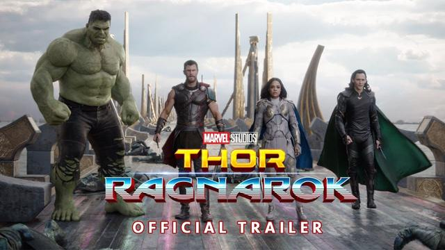 "画像: ""Thor: Ragnarok"" Official Trailer youtu.be"