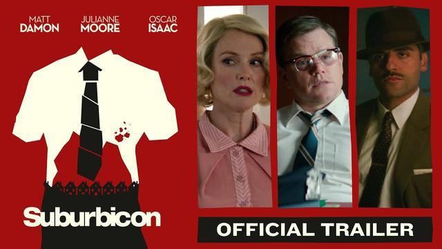 画像: Suburbicon (2017) - Official Trailer - Paramount Pictures youtu.be