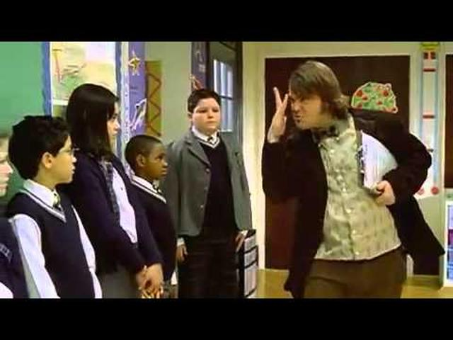 画像: School of Rock Trailer (2003) youtu.be