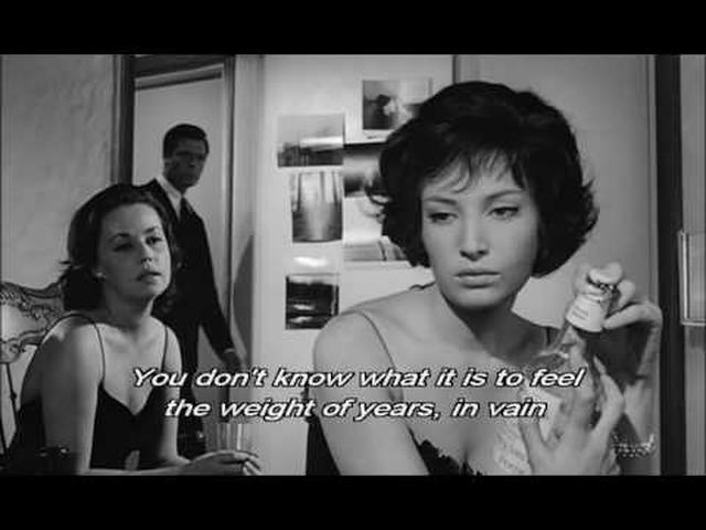 画像: La Notte Trailer, 1961 youtu.be
