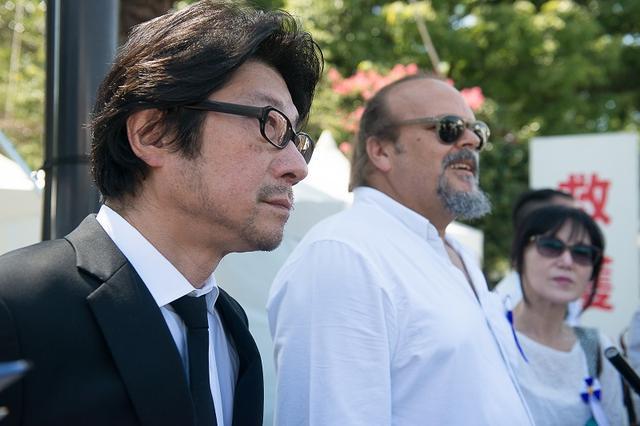 画像2: 父、チェ・ゲバラが訪れた広島に、58年の時を経て実子カミーロ・ゲバラ氏が、阪本順治監督と共に訪問-平和を祈り、広島平和祈念式典に参列、献花ー