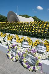 画像3: 父、チェ・ゲバラが訪れた広島に、58年の時を経て実子カミーロ・ゲバラ氏が、阪本順治監督と共に訪問-平和を祈り、広島平和祈念式典に参列、献花ー