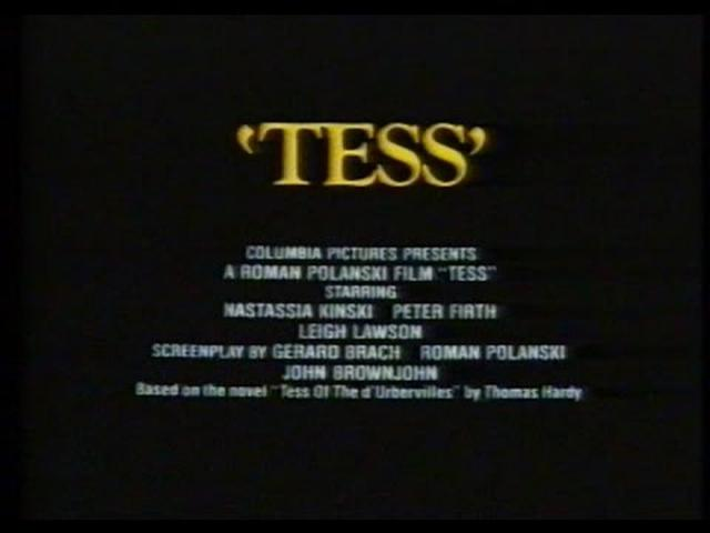 画像: Tess (1979) Trailer youtu.be