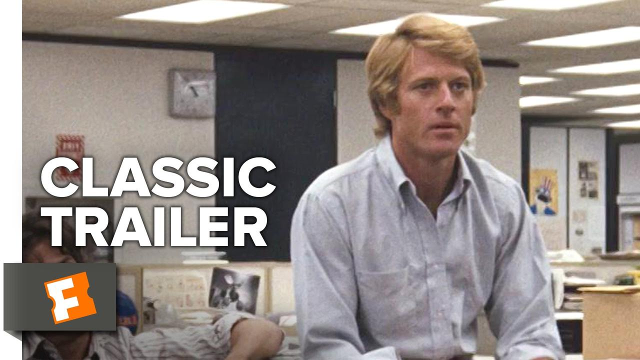 画像: All The President's Men (1976) Official Trailer - Robert Redford, Dustin Hoffman Thriller HD youtu.be
