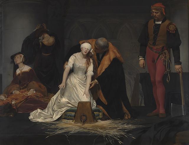 画像: ポール・ドラローシュ《レディ・ジェーン・グレイの処刑》 1833年 油彩・カンヴァス ロンドン・ナショナル・ギャラリー Paul Delaroche, The Execution of Lady Jane Grey,  © The National Gallery, London. Bequeathed by the Second Lord Cheylesmore, 1902