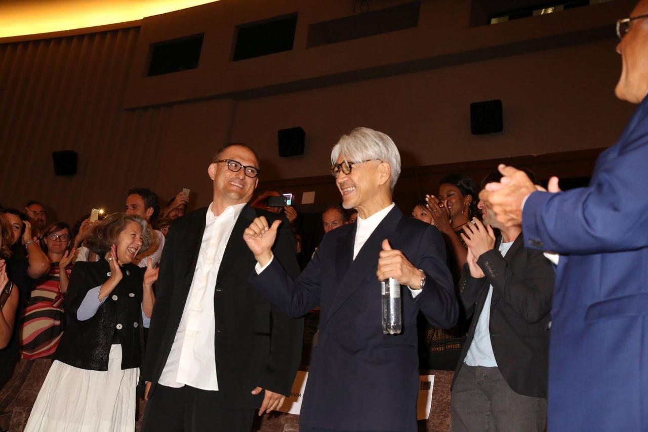 画像: これは最終楽章のはじまりなのか 坂本龍一の音楽と思索の旅を捉えたドキュメンタリー 『Ryuichi Sakamoto: CODA』 坂本龍一、ヴェネツィア国際映画祭でのワールドプレミアに登場!