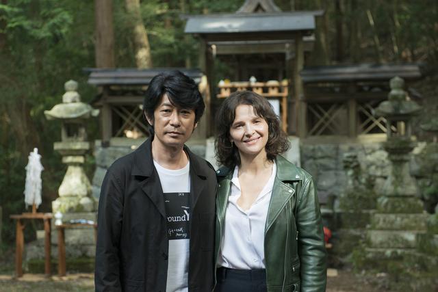 画像: 永瀬正敏、ジュリエット・ビノシュ(左より)