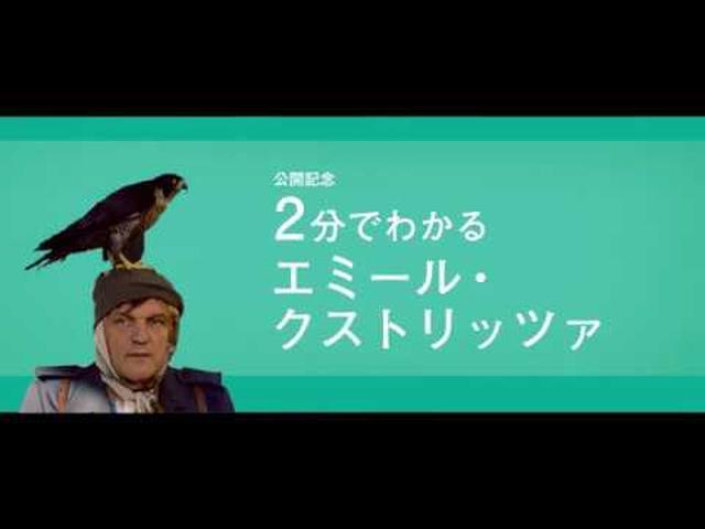 """画像: 知らなきゃマズイ!今からでも遅くないー公開記念 """"2 分でわかるエミール・クストリッツァ""""特別映像 youtu.be"""