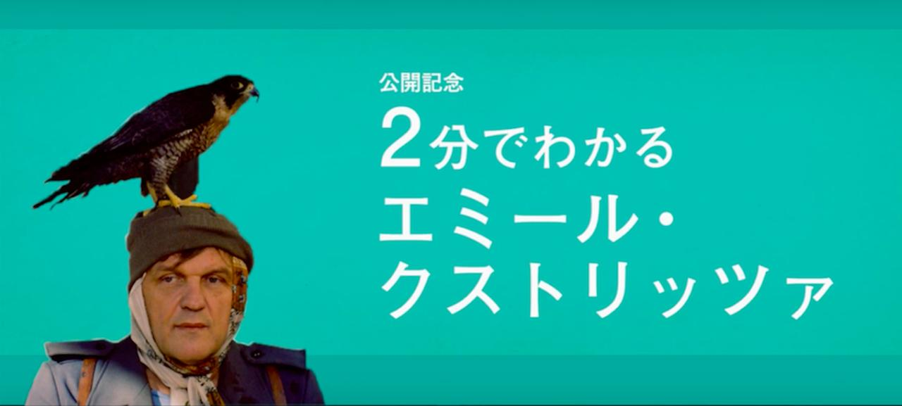 """画像2: 乗り遅れるな!知らなきゃマズイ!今からでも遅くないー公開記念 """"2 分でわかるエミール・クストリッツァ""""特別映像"""