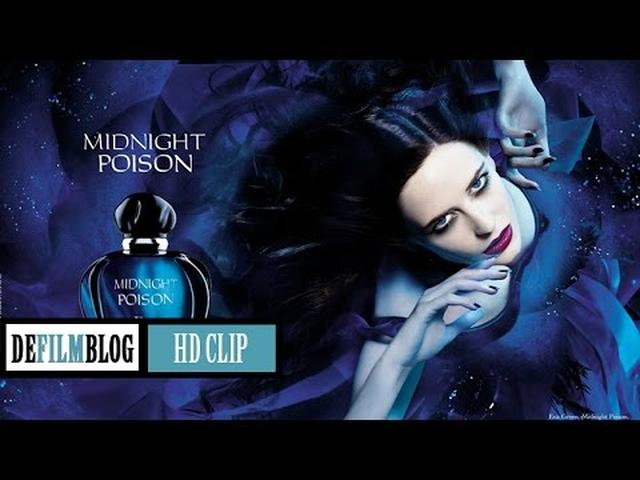 画像: Eva Green ad for Midnight Poison from Christian Dior (1080p) youtu.be