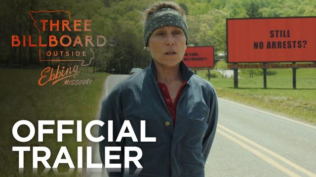 画像: THREE BILLBOARDS OUTSIDE EBBING, MISSOURI | Official Red Band Trailer | FOX Searchlight youtu.be