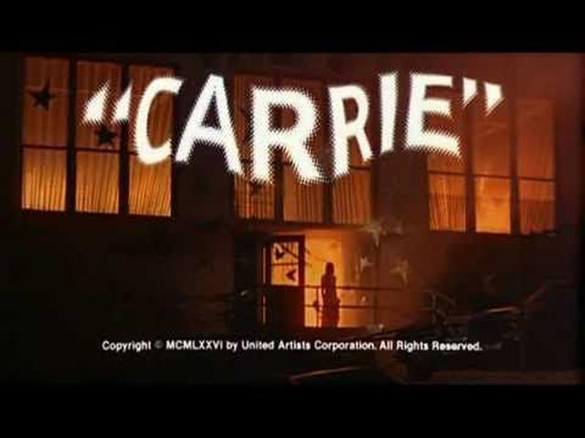 画像: Carrie (1976) - Original Trailer youtu.be