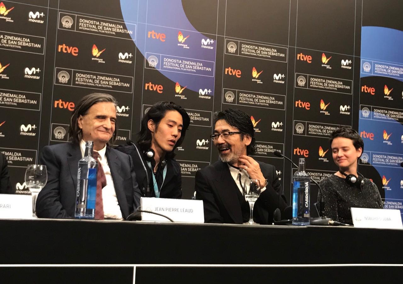 画像: サン・セバスチャン国際映画祭 公式会見