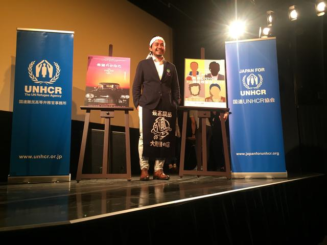 画像1: 10/2 国連UNHCR難民映画祭2017 アキ・カウリスマキ最新作 日本初上映トークイベントレポート シェルワン・ハジ(映画『希望のかなた』)✖ 小野正嗣(作家・立教大学教授)