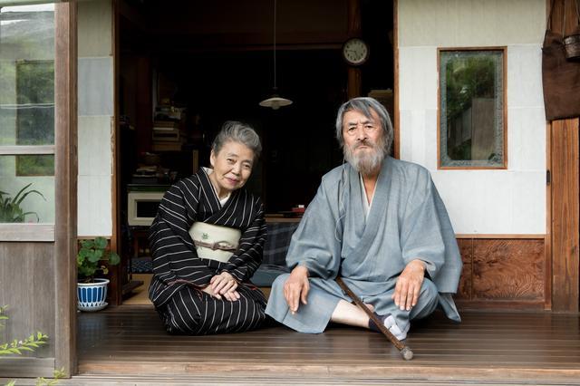 画像: 左より樹木希林、山﨑努 (c)2017「モリのいる場所」製作委員会