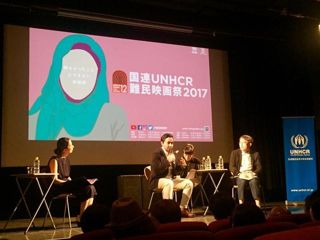 画像2: 10/2 国連UNHCR難民映画祭2017 アキ・カウリスマキ最新作 日本初上映トークイベントレポート シェルワン・ハジ(映画『希望のかなた』)✖ 小野正嗣(作家・立教大学教授)