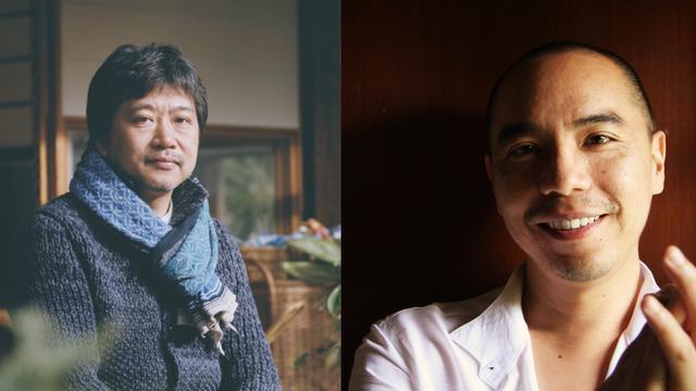 画像: 是枝裕和監督(左)アピチャッポン・ウィーラセタクン監督(右)