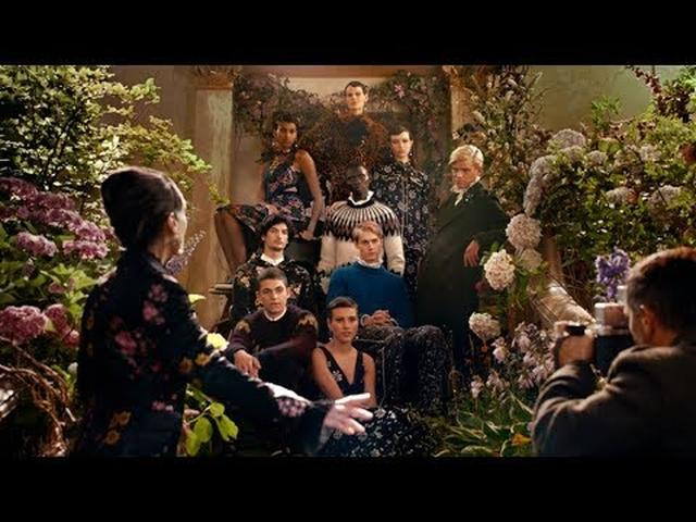 "画像: ERDEM x H&M – ""The Secret Life of Flowers"" campaign film by Baz Luhrmann youtu.be"