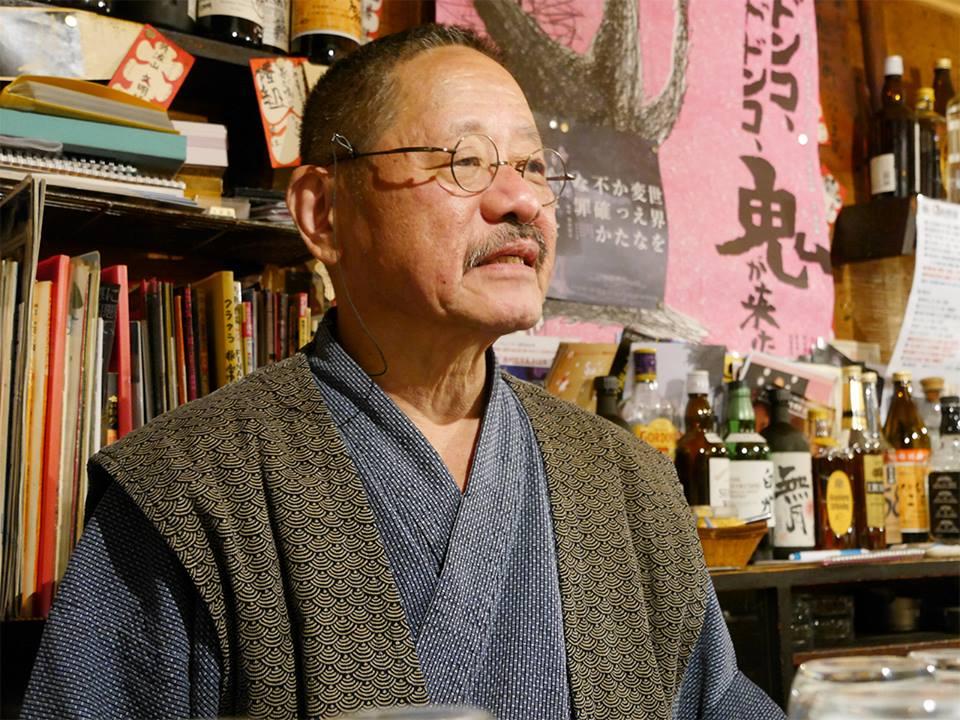 画像1: cinefilインタビュー:新宿ゴールデン街に集う映画人・文化人を見続けてきた俳優、外波山文明が語るー