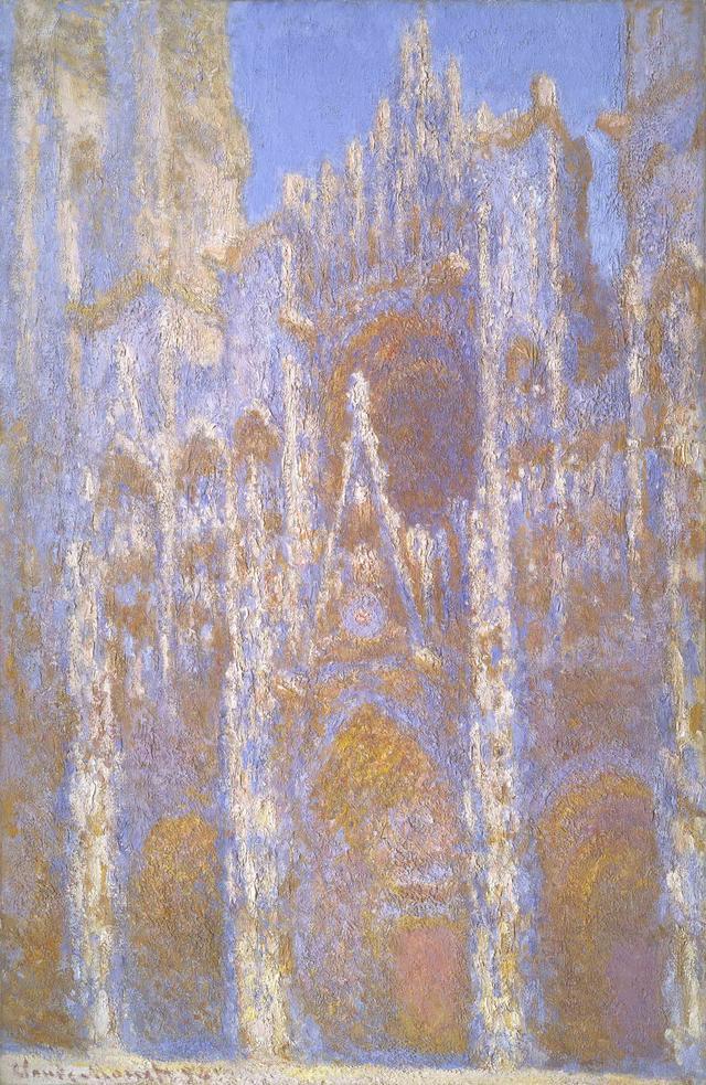 画像: クロード・モネ《ルーアン大聖堂、正面》1894年100.6cm×66cm油彩、カンヴァスJuliana Cheney Edwards Collection, 39.671Photograph © Museum of Fine Arts, Boston