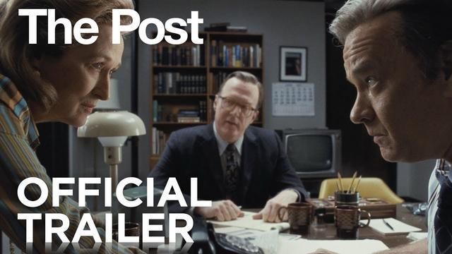 画像: The Post | Official Trailer [HD] | 20th Century FOX youtu.be