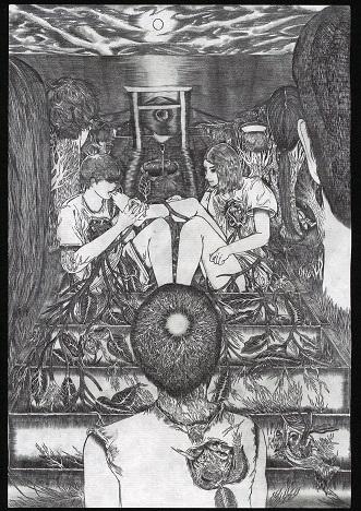 画像: 画家 Ataru SATOの書き下ろしイラスト