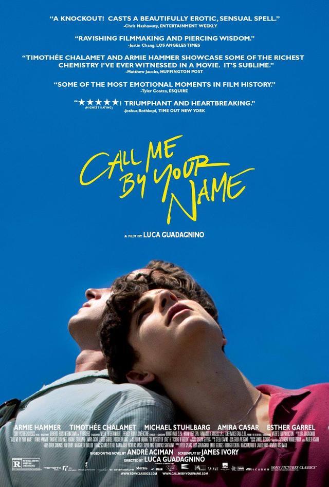 画像: 『Call Me By Your Name』海外ポスター