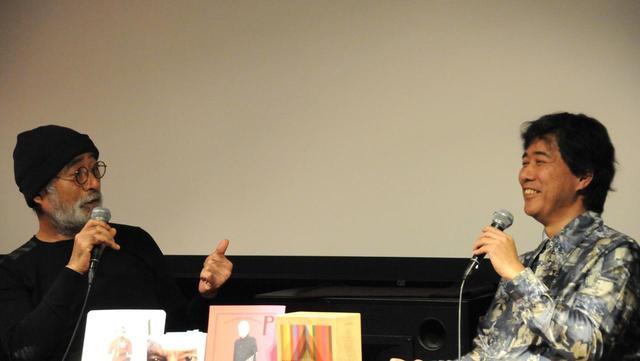 画像: 左より滝本誠(映画・美術評論家)、 柳下毅一郎(映画評論家・特殊翻訳家)