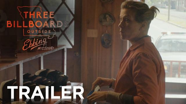 画像: THREE BILLBOARDS OUTSIDE EBBING, MISSOURI | Official Trailer B | FOX Searchlight www.youtube.com