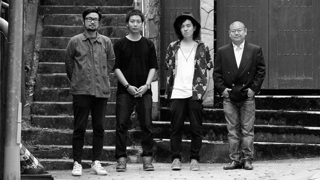 画像: 右よりガチンコ・フィルム代表・飯塚冬酒氏、長棟航平監督、奥田裕介監督、小野篤史監督