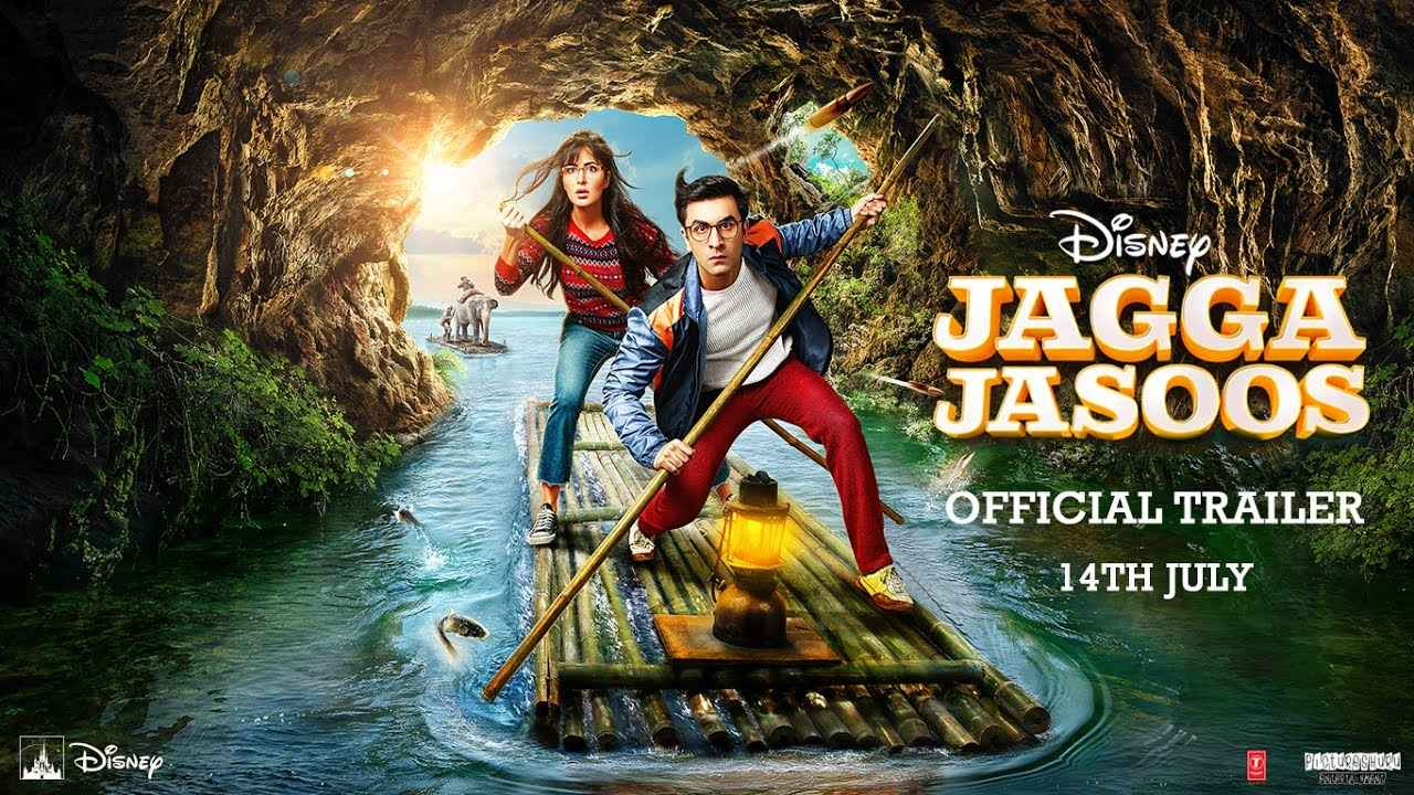 画像: Jagga Jasoos   Official Trailer   In Cinemas July 14 youtu.be