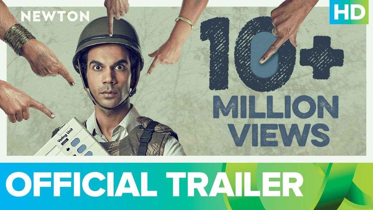 画像: Newton   Official Trailer   Rajkummar Rao youtu.be