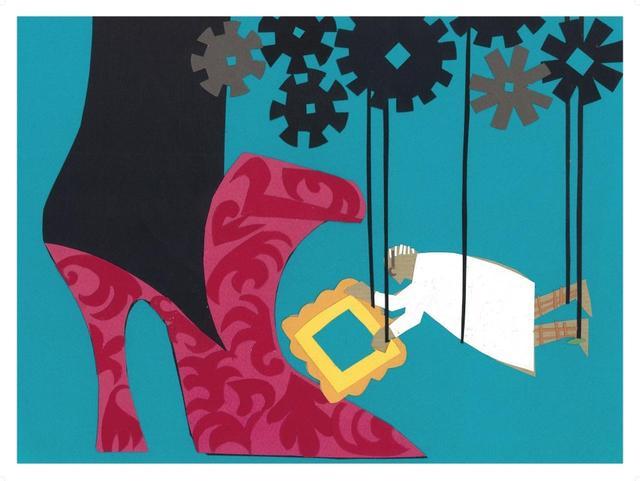 画像6: マノロと45年以上友人であり、アーティストでもある監督が書き下ろし! マノロ・ブラニクをイメージした コミカルでキュートなイラスト14点を一挙公開!