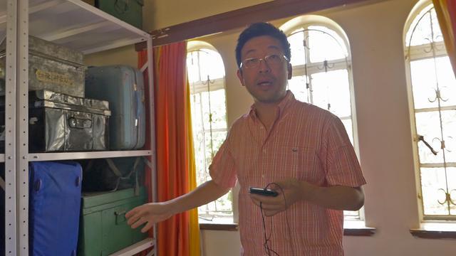 画像: ナイロビ研究連絡センターの所長、溝口さん