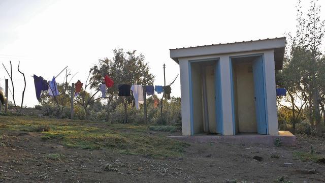 画像: 立派なトイレ