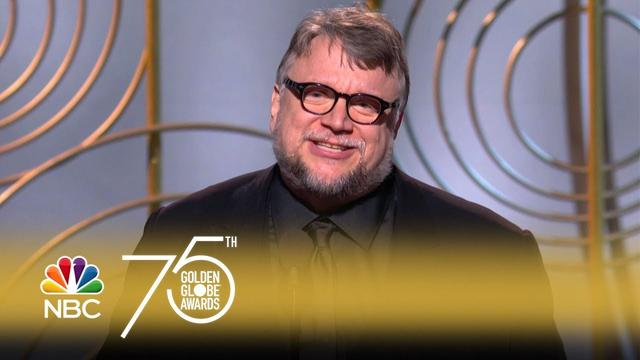 画像: Guillermo del Toro Wins Best Director at the 2018 Golden Globes youtu.be