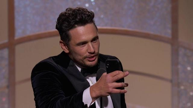 画像: James Franco Wins Best Actor in a Musical or Comedy - GG 2018 youtu.be